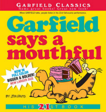 Garfield Says A Mouthful av Jim Davis (Heftet)