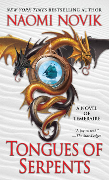 Tongues of serpents av Naomi Novik (Heftet)