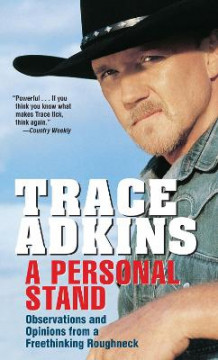A Personal Stand av Trace Adkins (Heftet)