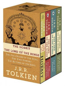 J.R.R. Tolkien 4-Book Boxed Set: The Hobbit and the Lord of the Rings (Movie Tie-In) av J R R Tolkien (Heftet)
