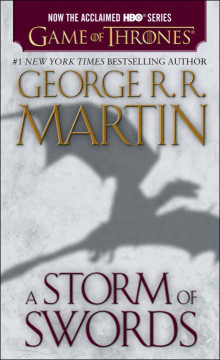 A Storm of Swords av George R R Martin (Heftet)
