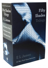 Omslag - Fifty shades of grey trilogy