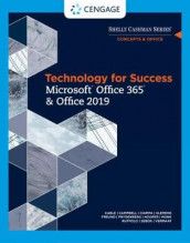 Technology for Success and Shelly Cashman Series Microsoft (R)Office 365 & Office 2019 av Jennifer Campbell, Mark Ciampa, Barbara Clemens, Steven Freund, Mark Frydenberg, Ellen Monk, Lisa Ruffolo, Susan Sebok, Joy Starks og Misty Vermaat (Heftet)