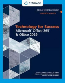 Technology for Success and Shelly Cashman Series Microsoft Office 365 & Office 2019 av Joy Starks, Susan Sebok, Mark Frydenberg, Lisa Ruffolo, Ralph Hooper, Sandra Cable, Jennifer Campbell, Barbara Clemens, Misty Vermaat og Mark Ciampa (Heftet)