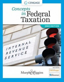 Concepts in Federal Taxation 2020 (with Intuit ProConnect Tax Online 2018 and RIA Checkpoint (R) 1 term (6 months) Printed Access Card) av Kevin Murphy og Mark Higgins (Blandet mediaprodukt)