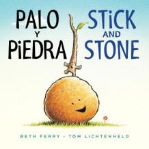 Palo Y Piedra/Stick and Stone Bilingual Board Book av Beth Ferry (Kartonert)