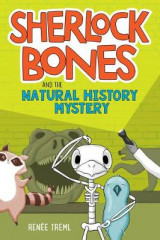 Omslag - Sherlock Bones and the Natural History Mystery