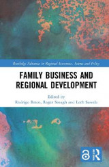 Omslag - Family Business and Regional Development