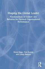 Omslag - Shaping the Global Leader