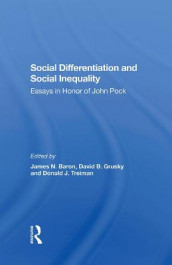 Social Differentiation And Social Inequality av James N Baron, David B Grusky og Donald Treiman (Innbundet)