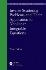 Omslag - Inverse Scattering Problems and Their Application to Nonlinear Integrable Equations