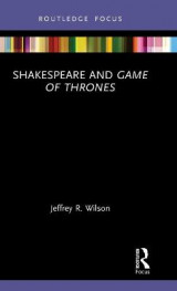 Omslag - Shakespeare and Game of Thrones