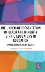 Omslag - The Under-Representation of Black and Minority Ethnic Educators in Education