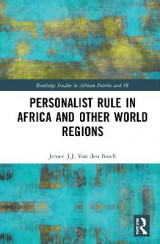 Omslag - Personalist Rule in Africa and Other World Regions