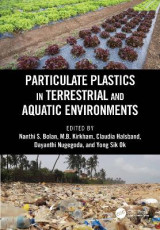 Omslag - Particulate Plastics in Terrestrial and Aquatic Environments
