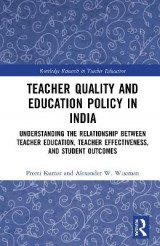 Omslag - Teacher Quality and Education Policy in India