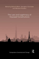 Omslag - The Law and Legitimacy of Imposed Constitutions