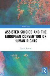 Omslag - Assisted Suicide and the European Convention on Human Rights