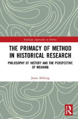 Omslag - The Primacy of Method in Historical Research