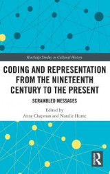Omslag - Coding and Representation from the Nineteenth Century to the Present
