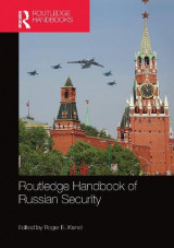 Omslag - Routledge Handbook of Russian Security