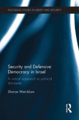 Omslag - Security and Defensive Democracy in Israel