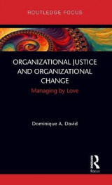 Omslag - Organizational Justice and Organizational Change