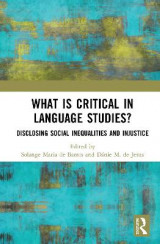 Omslag - What Is Critical in Language Studies