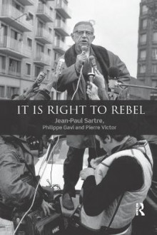 It is Right to Rebel av Jean-Paul Sartre, Philippe Gavi og Pierre Victor (Heftet)