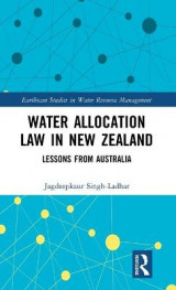 Omslag - Water Allocation Law in New Zealand