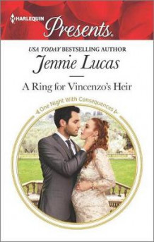 A Ring for Vincenzo's Heir av Jennie Lucas (Heftet)