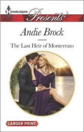 The Last Heir of Monterrato av Andie Brock (Heftet)
