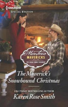 The Maverick's Snowbound Christmas av Karen Rose Smith (Heftet)