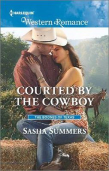 Courted by the Cowboy av Sasha Summers (Heftet)