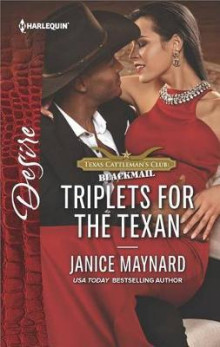 Triplets for the Texan av Janice Maynard (Heftet)