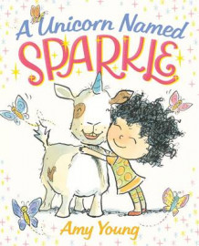 A Unicorn Named Sparkle av Amy Young (Innbundet)
