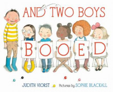 And Two Boys Booed av Judith Viorst og Sophie Blackall (Innbundet)