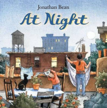 At Night av Jonathan Bean (Innbundet)