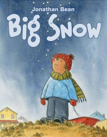 Big Snow av Jonathan Bean (Innbundet)