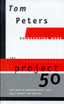 Project 50 av Tom Peters (Innbundet)