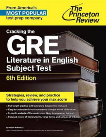 Cracking the GRE Literature in English Subject Test av McMullen (Heftet)