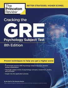Cracking the GRE Psychology Subject Test av Princeton Review (Heftet)