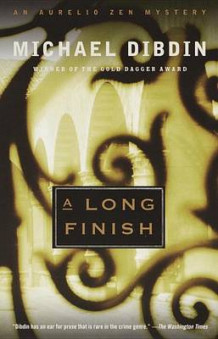 A Long Finish av Michael Dibdin (Heftet)