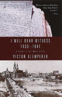 I Will Bear Witness 1933-1941 av Victor Klemperer (Heftet)