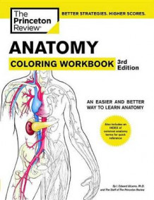 Anatomy Coloring Workbook av Princeton Review (Heftet)