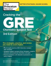 Cracking the GRE Chemistry Subject Test, 3rd Edition av The Princeton Review (Heftet)