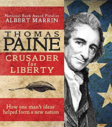 Thomas Paine av Albert Marrin (Heftet)