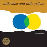 Omslag - Little Blue and Little Yellow