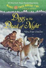 Omslag - MAgic Tree House #46 dogs in the Dead of the Night