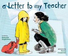 Letter to My Teacher av Deborah Hopkinson og Nancy Carpenter (Innbundet)